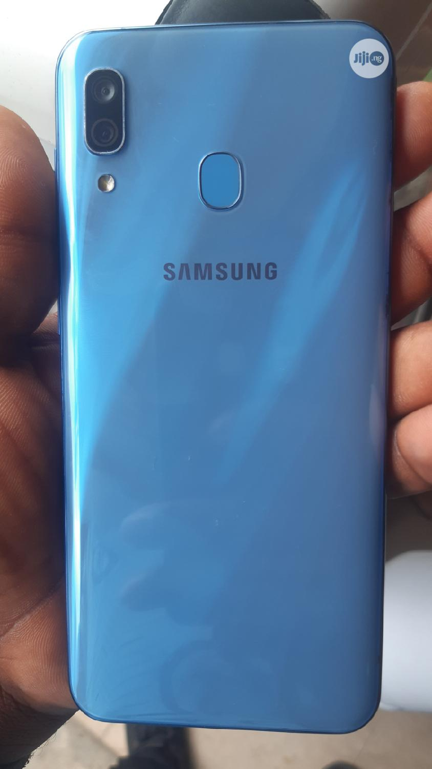 Samsung Galaxy A30 64 GB Blue   Mobile Phones for sale in Ikeja, Lagos State, Nigeria
