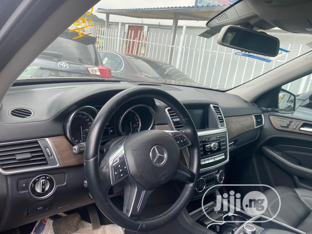Mercedes-Benz M Class 2012 ML 350 4Matic Black   Cars for sale in Ojodu, Lagos State, Nigeria
