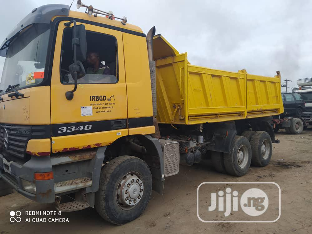 Archive: European Used 3340 Actros 6 X 6 Dump Truck 4sale