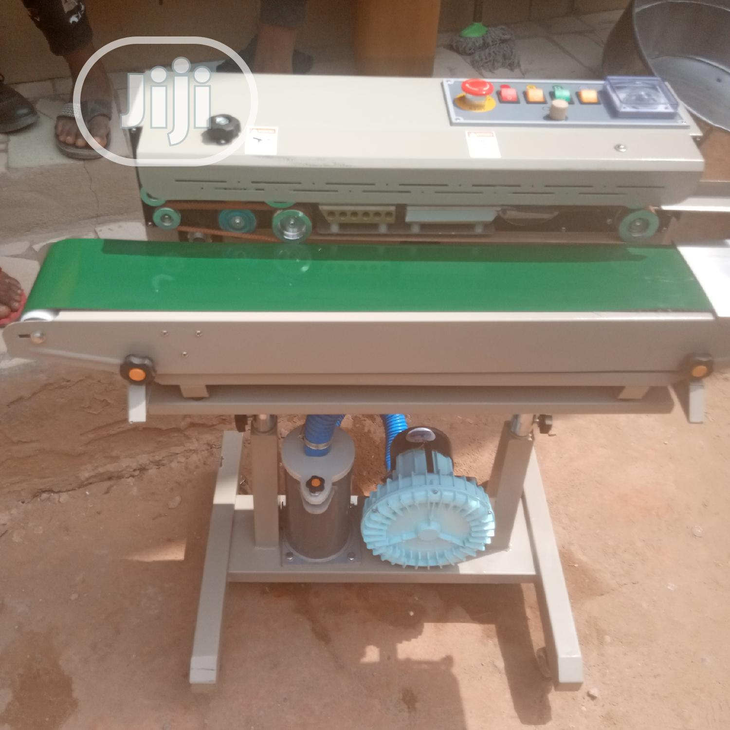 Archive: Continuous Band Sealing Machine