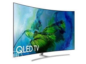 """Samsung 65"""" Class Q8C Curved QLED 4K TV   TV & DVD Equipment for sale in Lagos State, Ojo"""