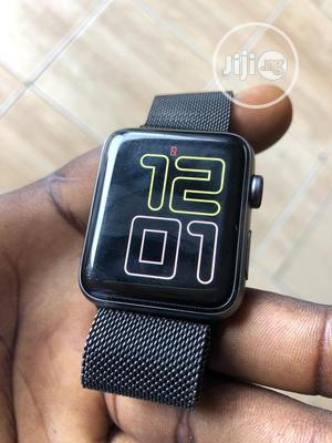 Uk Use Apple Wristwatch Series 3 42mm | Smart Watches & Trackers for sale in Lagos State, Ikeja