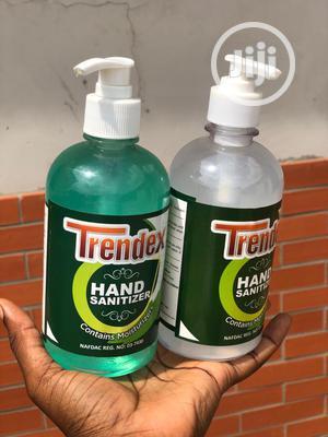 Alcohol-based Trendex Hand Sanitizer NAFDAC Registered | Skin Care for sale in Lagos State, Surulere