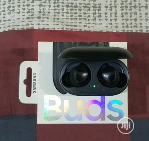 Samsung Galaxy Buds, Black (With Wireless Charging Case) | Headphones for sale in Lagos State, Surulere