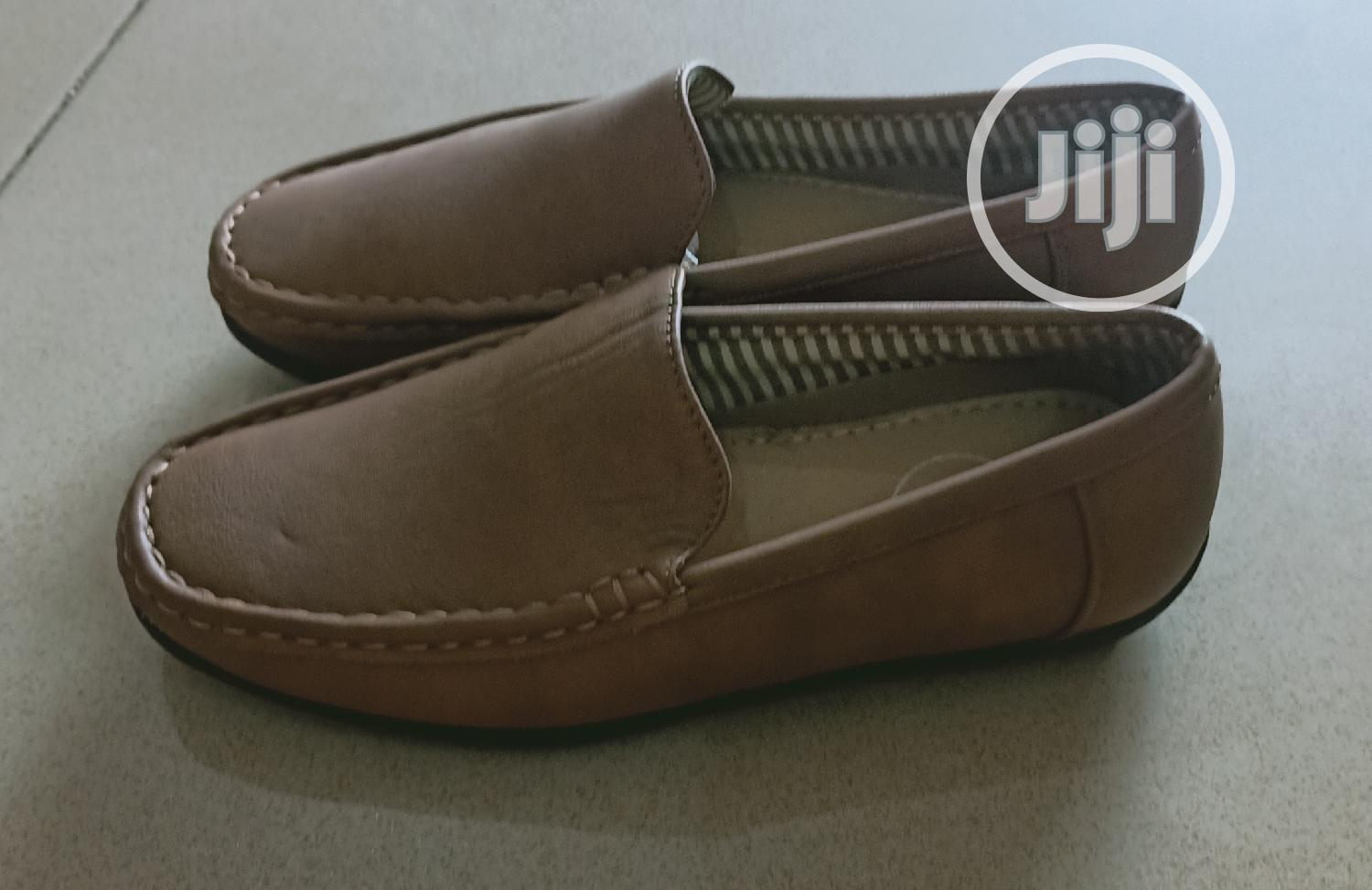 Brown Loafers for Kids