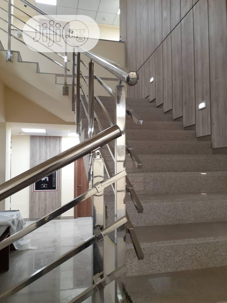 Stainless Steel Handrails With Square Pipe