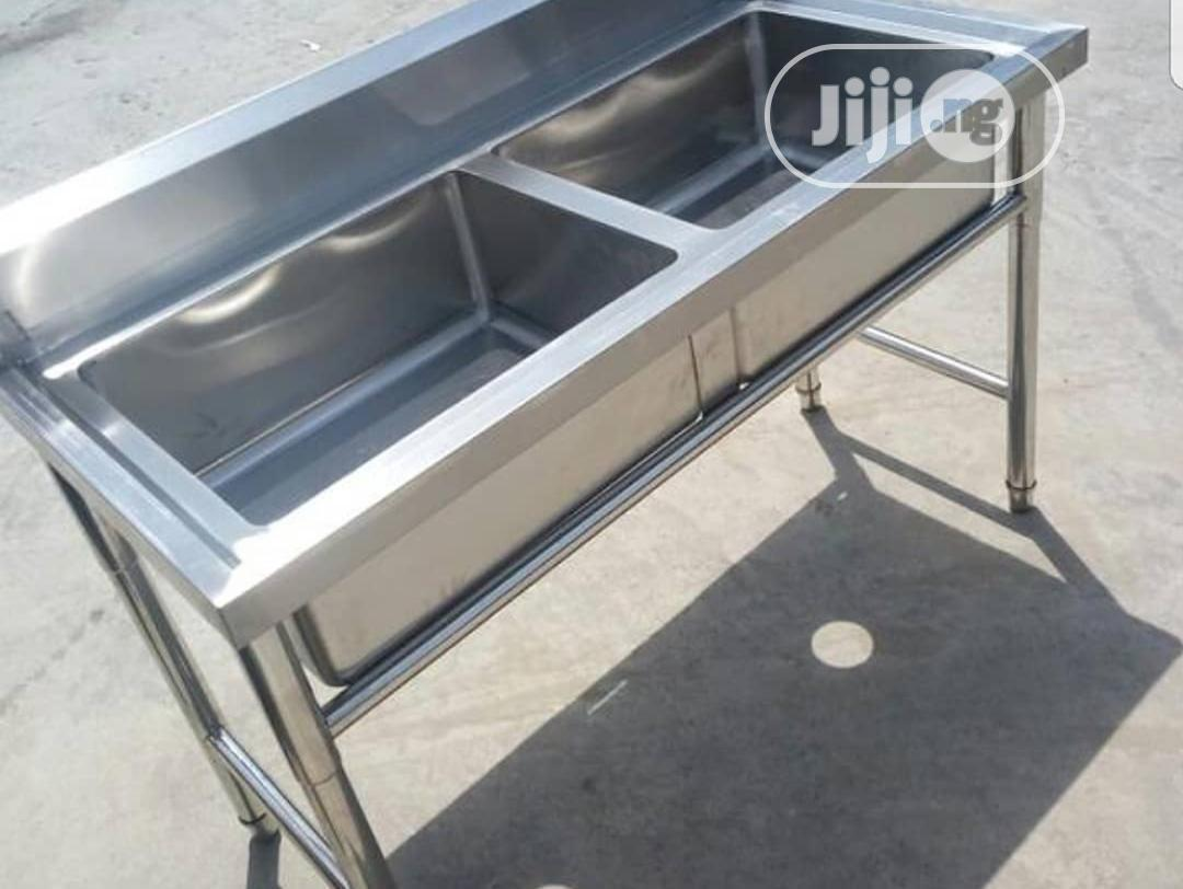 Archive: Double Tank Stainless Steel Sink