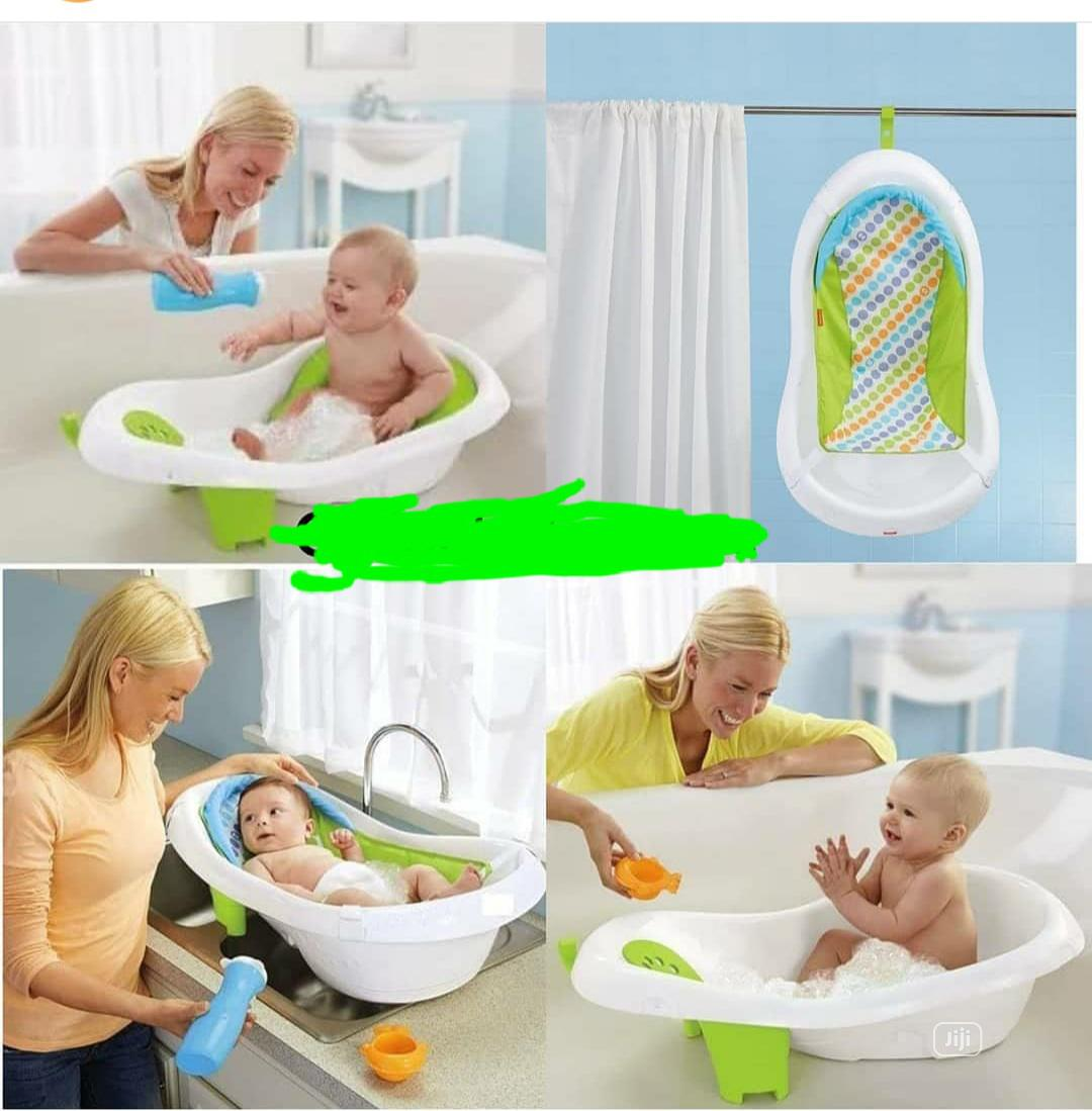 4 Stage New Born To Toddler Bath Set