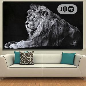 Wall Art Canvas Prints Lion Pictures   Home Accessories for sale in Lagos State, Victoria Island