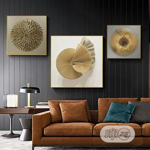 Artwork Geometric Abstract Canvas Painting | Arts & Crafts for sale in Lagos State, Lekki