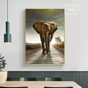 Elephant Wall Artwork With Frame | Home Accessories for sale in Lagos State, Gbagada