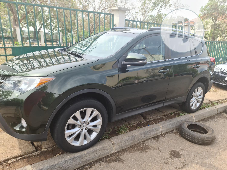 Toyota RAV4 2013 Green   Cars for sale in Garki 2, Abuja (FCT) State, Nigeria