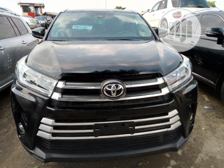 Toyota Highlander 2018 Black