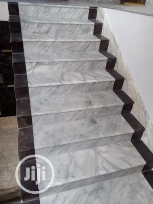 Staircase Marbles And Granite Slabs, Wall Tiles, Contertop | Building & Trades Services for sale in Lagos State, Orile