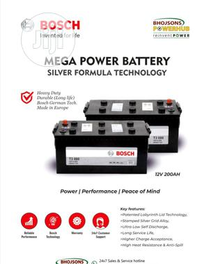 Bosch Solar Battery 12v 200ahs With 18 Month Warranty | Solar Energy for sale in Lagos State, Ojo