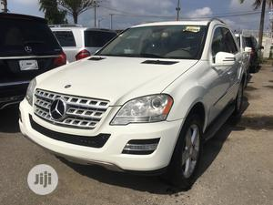 Mercedes-Benz M Class 2010 ML 350 4Matic White | Cars for sale in Lagos State, Surulere