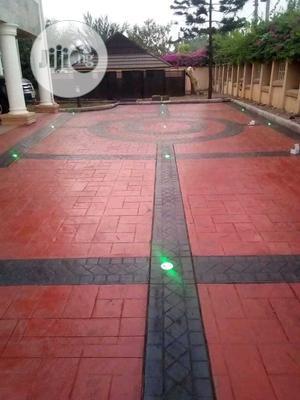 Floor Stamping | Landscaping & Gardening Services for sale in Lagos State, Lekki
