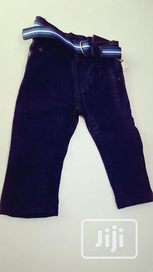 Black Jeans With Belt | Children's Clothing for sale in Lagos State, Ojodu