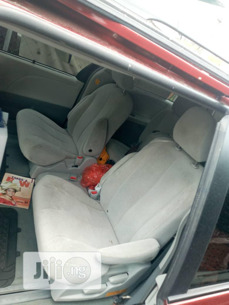 Toyota Sienna 2012 LE 7 Passenger Mobility Red   Cars for sale in Amuwo-Odofin, Lagos State, Nigeria