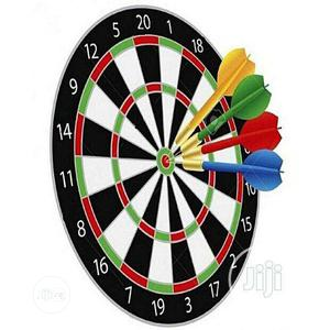 Standard Dart Board With 6 Arrows | Books & Games for sale in Lagos State, Ikeja