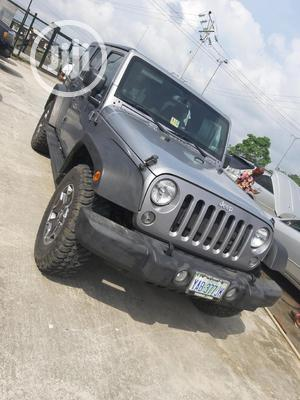 Jeep Wrangler 2013 Unlimited Sport Gray   Cars for sale in Rivers State, Port-Harcourt