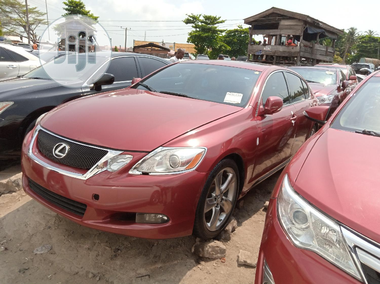 Lexus GS 2009 Red   Cars for sale in Amuwo-Odofin, Lagos State, Nigeria