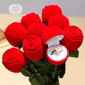 Red Rose Ring Case | Wedding Wear & Accessories for sale in Lagos State, Ikotun/Igando