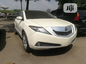 Acura ZDX 2011 Base AWD White | Cars for sale in Lagos State, Apapa
