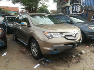 Acura MDX 2008 SUV 4dr AWD (3.7 6cyl 5A) Gold   Cars for sale in Lagos State, Apapa