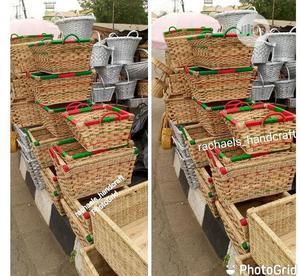Square Hamper Basket | Arts & Crafts for sale in Lagos State, Ikeja