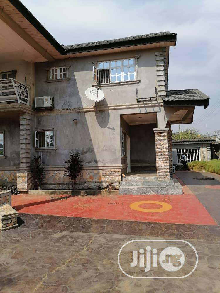 Archive: Self Compound 4bedroom Duplex At Akala Way