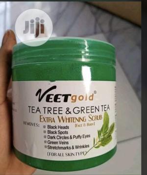Veet Gold Green Tea Stretch Mark and Green Vein Scrub   Skin Care for sale in Lagos State, Amuwo-Odofin