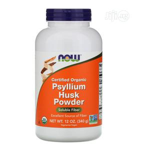 Now Foods Certified Organic, Psyllium Husk Powder, 12 Oz 340   Vitamins & Supplements for sale in Lagos State, Amuwo-Odofin