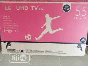 LG Smart 4K TV 55 Inches   TV & DVD Equipment for sale in Abuja (FCT) State, Kabusa