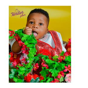 Baby Clothes-baby Boys' Sequin Agbada_white And Red | Children's Clothing for sale in Lagos State, Ojodu