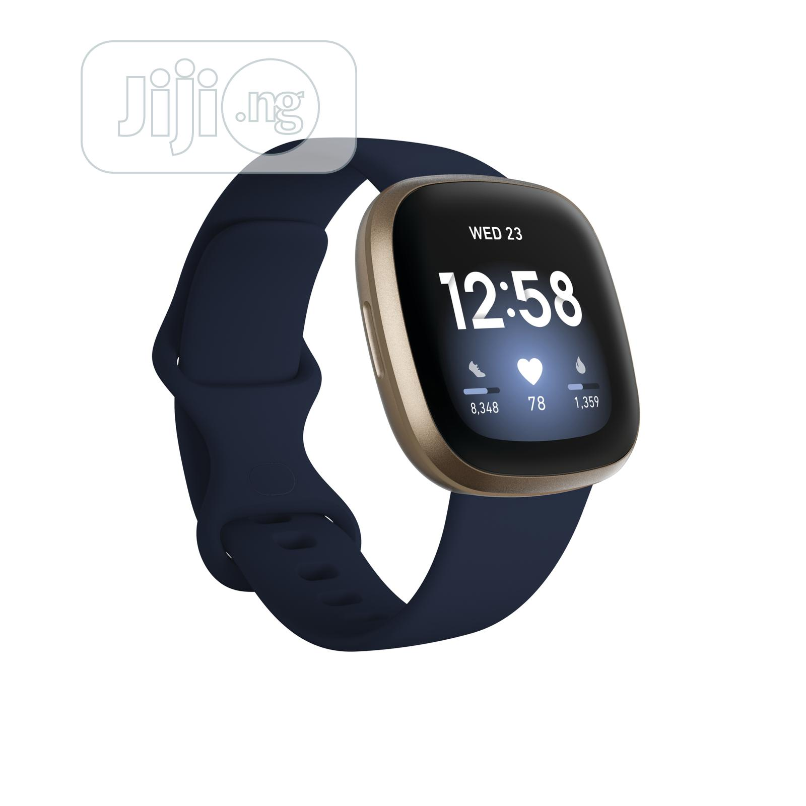 Fitbit Versa 3   Smart Watches & Trackers for sale in Ikeja, Lagos State, Nigeria