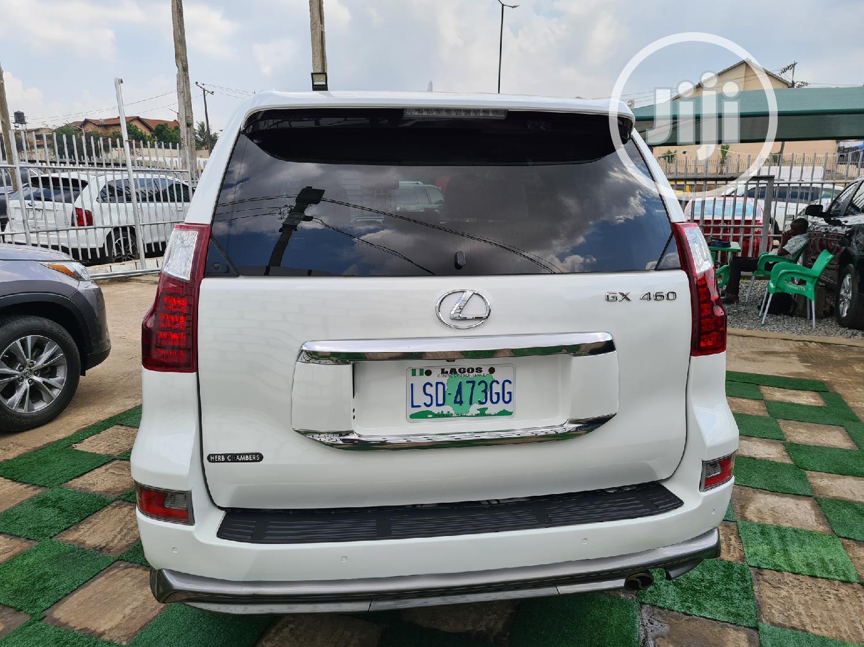 Lexus GX 2012 460 White   Cars for sale in Ikeja, Lagos State, Nigeria