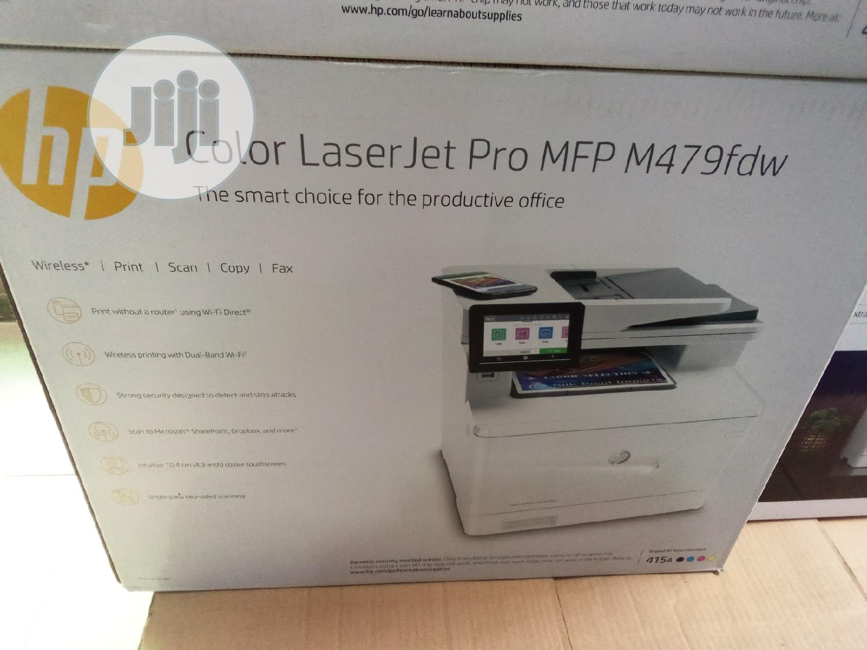 HP Color Laserjet Pro MFP M479fdw
