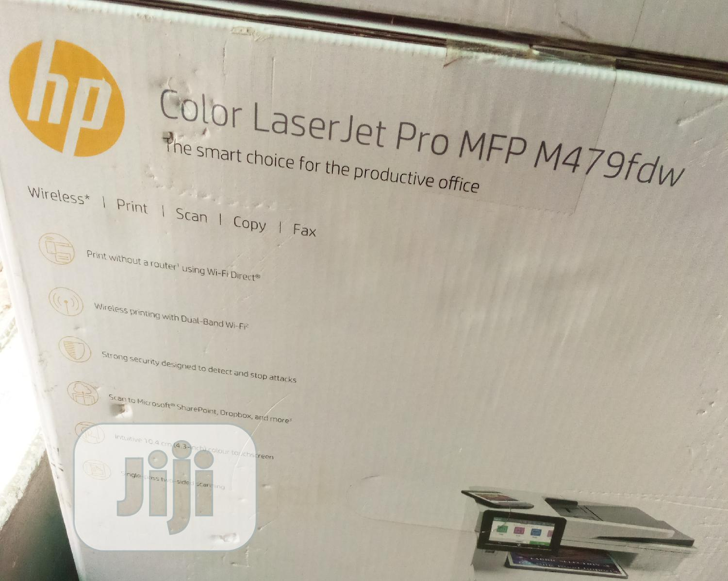 HP Color Laserjet Pro MFP M479fdw | Printers & Scanners for sale in Ikeja, Lagos State, Nigeria
