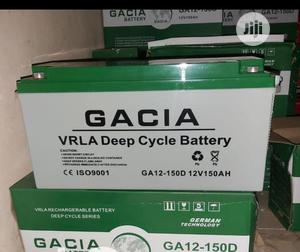 Gacia Premium Quality Battery 150ah 12v   Solar Energy for sale in Lagos State, Ikeja