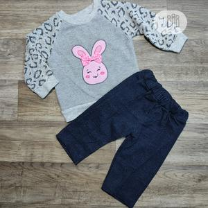 Girls Glitter Top and Pull on Pant | Children's Clothing for sale in Lagos State, Surulere