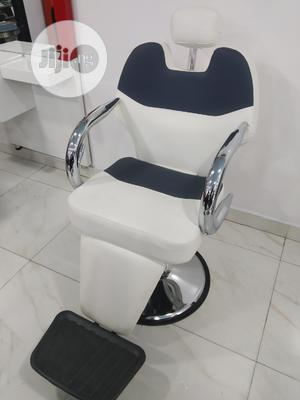 White Professional Barber Chair | Salon Equipment for sale in Lagos State, Yaba