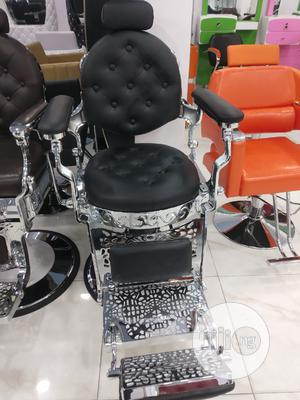 Ergonomic Barber Chair - Black | Salon Equipment for sale in Lagos State, Yaba