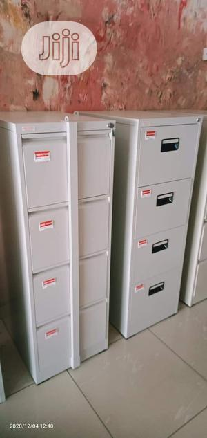 Quality Metal 4 Drawer Filling Cabinet | Furniture for sale in Lagos State, Yaba