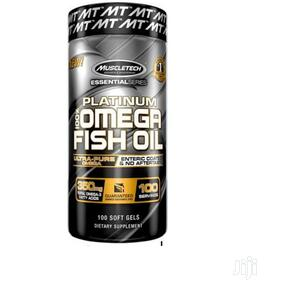 Muscletech Omega 3 Fish Oil 350mg 180mg Epa 120mg Dha 100 | Vitamins & Supplements for sale in Lagos State, Amuwo-Odofin