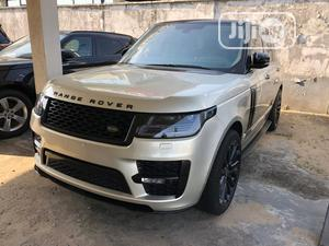 Land Rover Range Rover Vogue 2014 Gold | Cars for sale in Lagos State, Surulere