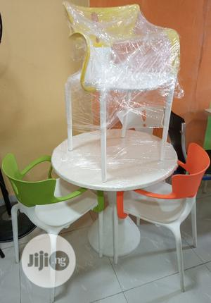 Very Unique Set Of Restaurant/ Dinning Table With 4 Chairs | Furniture for sale in Lagos State, Lekki
