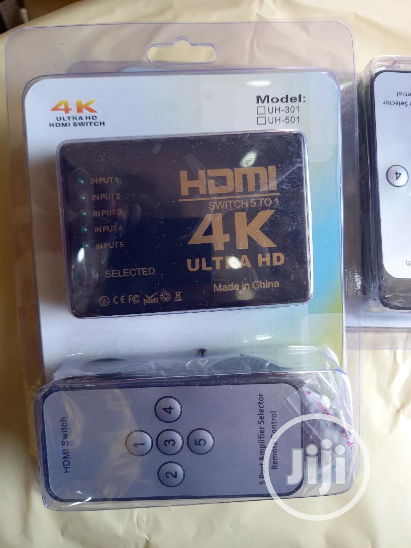4k Ultra HDMI Switch 5 Port