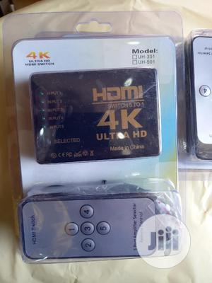 4k Ultra HDMI Switch 5 Port | Accessories & Supplies for Electronics for sale in Lagos State, Ikeja