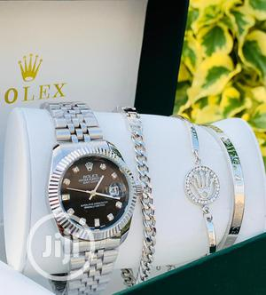 Rolex Fashion Wrist Watch and Bracelet   Watches for sale in Lagos State, Apapa
